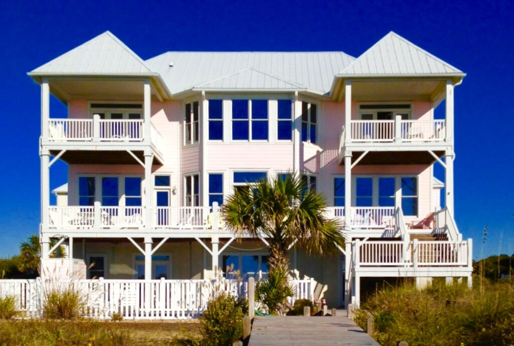 Big Pink Beach House