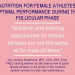 Nutrition for Female Athletes-Webinar with Jessica Drummond