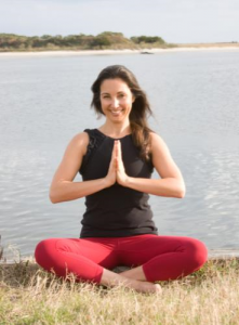 Business Spotlight on Professional Yoga Therapist Jessica Hartmann