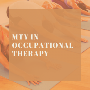 MTY in Occupational Therapy